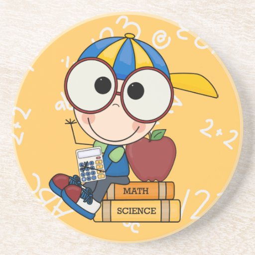 Back To School Supplies Coasters