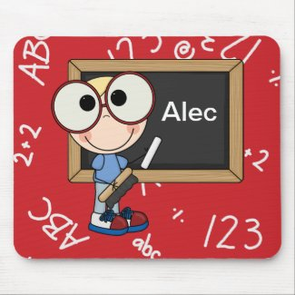 Back To School Supplies mousepad