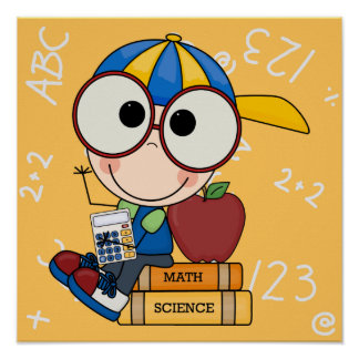 Back To School Supplies Posters