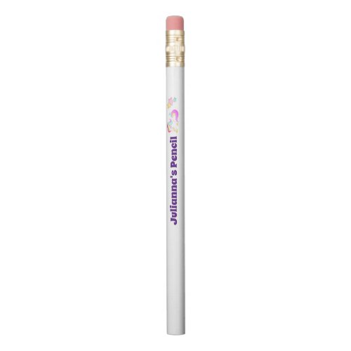 Back to School Supplies, Unicorn Personalized Name Pencil