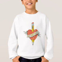 Back-to-School Tattoo Sweatshirt