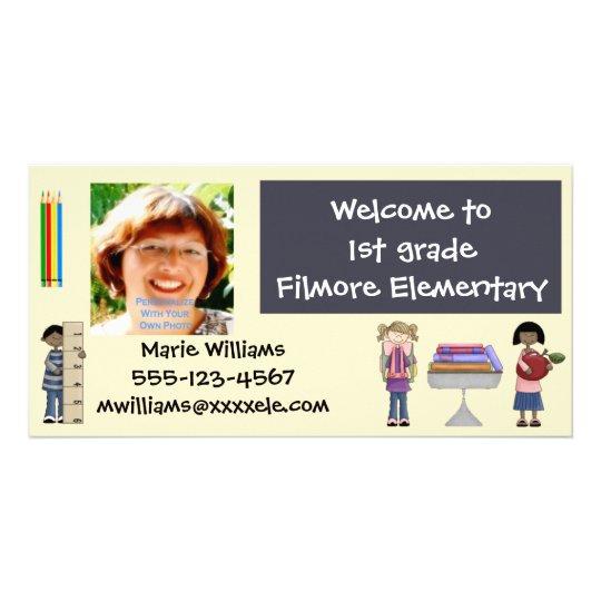 Back To School Teacher Cards