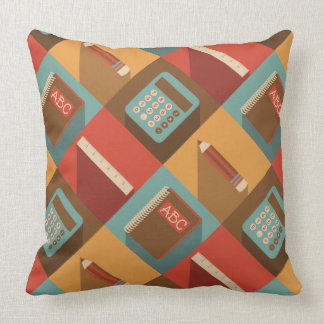 Back To School Tools (Hipster Style) Throw Pillow