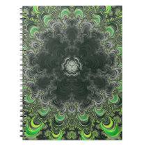 Back To School Trippy Fractal Notebook