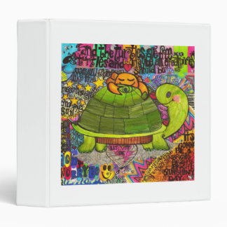 Back to School Turtle Binder