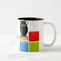 Back to School Two-Tone Coffee Mug