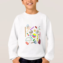 Back to School Unicorn Sweatshirt
