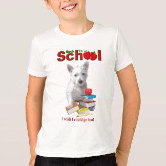 Back To School Westie Pup T-Shirt