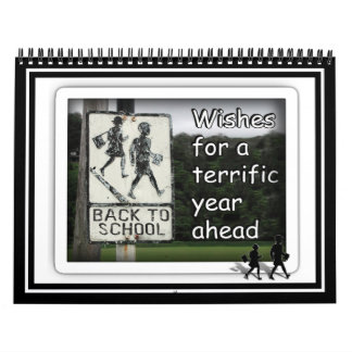 Back to School Wishes for a Great Year Calendar