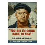 Back To Sea Poster