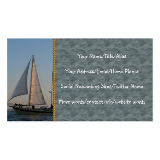 Back To Shore Business Card