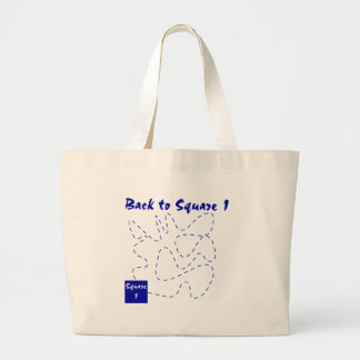 Back to square one funny t-shirts and gifts. canvas bags