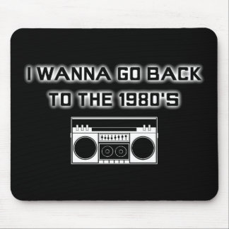 Back to the 1980's - MOUSEPAD - 2