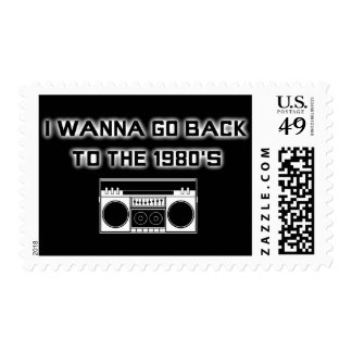 Back to the 1980's - STAMP - 2