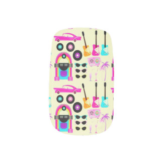 Back To The 50's Minx® Nail Art