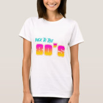 Back to the 80's Printed T-Shirt
