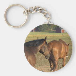 Back to the Barn Keychain