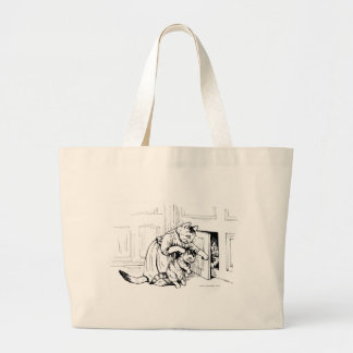 Back to the Cabinet, Kitteh! Cat Artwork Bags