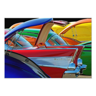 Back To The Car Show. Photo Print