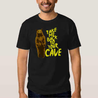 back to the cave tshirt