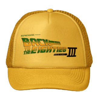 Back To The Eighties Hat