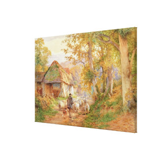 Back to the Fold Canvas Print