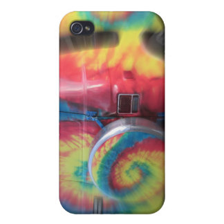 Back to the future! Wild hippie bus! iPhone 4/4S Cases