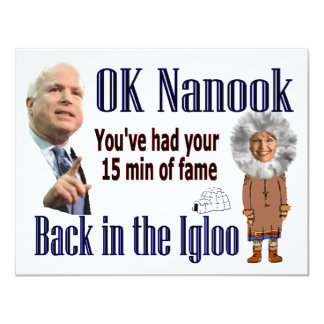 Back to the Igloo Card