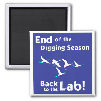 Back to the Lab! Fridge Magnet