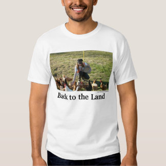 Back to the Land Tee Shirt