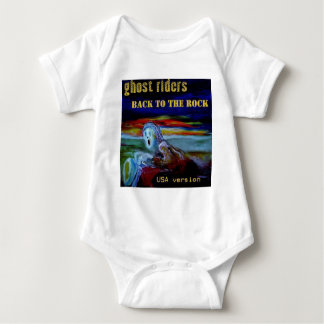 back to the rock USA cover tshirt1 Baby Bodysuit
