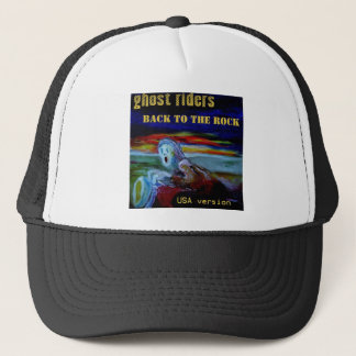 back to the rock USA cover tshirt1 Trucker Hat