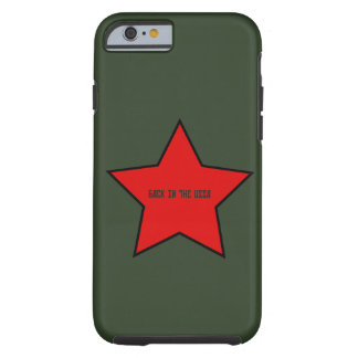 back to the ussaback to the united socialists stat tough iPhone 6 case