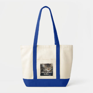 BACK TO WORK???NO WaY!! Canvas Bag