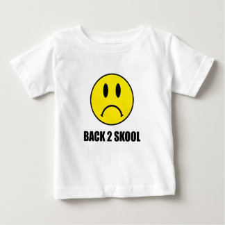 Back Two School Sad Baby T-Shirt