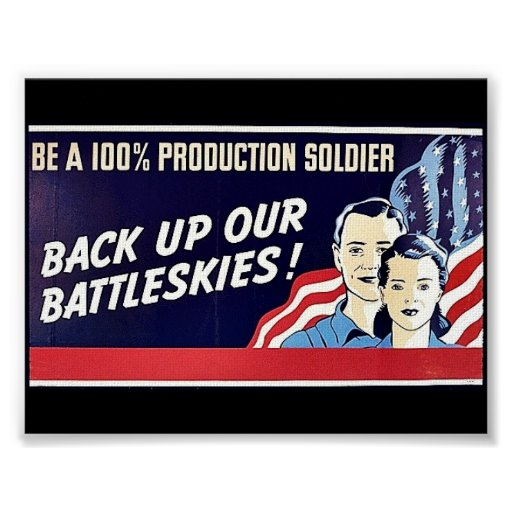 Back Up Our Battleskies Poster