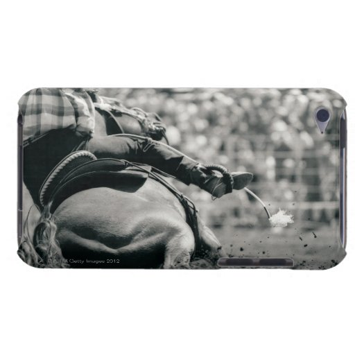 Back view of barreling racing Case-Mate iPod touch case