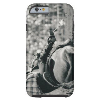 Back view of barreling racing tough iPhone 6 case
