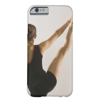 Back view of flexible gymnast barely there iPhone 6 case
