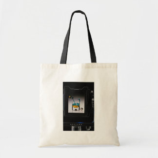 Back view of Large format camera Canvas Bag
