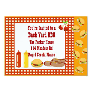 BACK YARD BBQ CARD