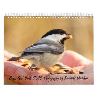 Back Yard Birds Calendar