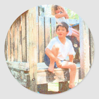 BACK YARD BUDDIES #4 PARTY FAVOR STICKERS