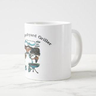 Back Yard Griller Dad Giant Coffee Mug