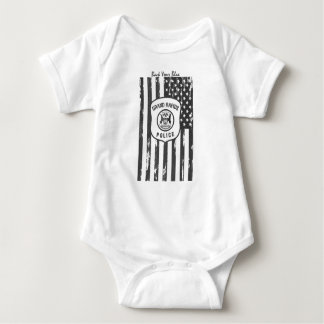 Back Your Blue - GRPD Baby Bodysuit