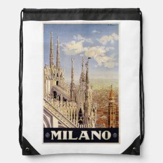 Backbag de Milano Milano Italia del vintage Mochilas