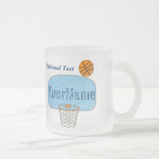 Backboard Breaker Frosted Glass Coffee Mug