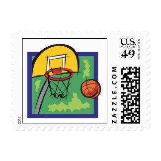 Backboard Postage Stamp