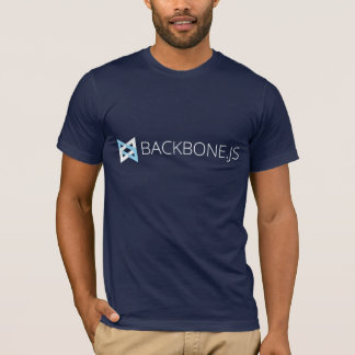 Backbone.js T-shirt (Navy)