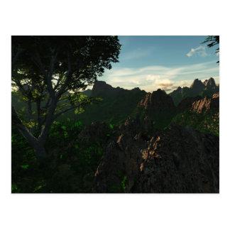 Backcountry Hike Postcard